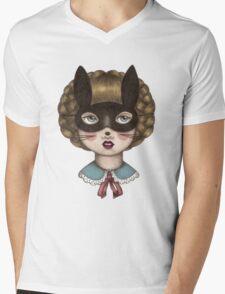 Ceremony - Masked Bunny lass Mens V-Neck T-Shirt