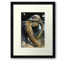 I will miss you Framed Print