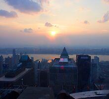 Sunset in Manhattan by JordanDefty