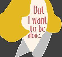Greta Garbo by swelldame