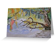 Withlacoochee Impressions Greeting Card