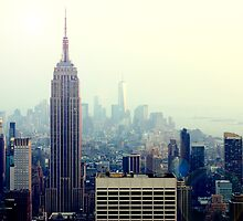 Empire State - Yellow Tone by JordanDefty