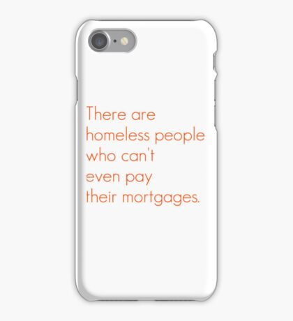 SNL Girl You Wish You...Party Mortgage Quote iPhone Case/Skin
