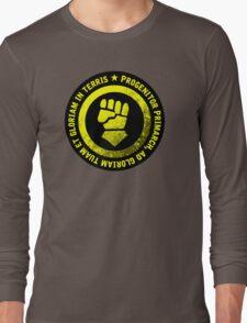 Progenitor Primarch, ad gloriam tuam et gloriam in terris - FISTS Long Sleeve T-Shirt