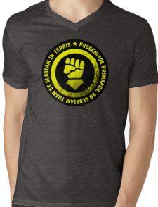 Progenitor Primarch, ad gloriam tuam et gloriam in terris - FISTS Mens V-Neck T-Shirt