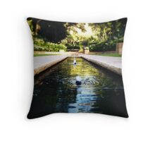 Formal Gardens Throw Pillow