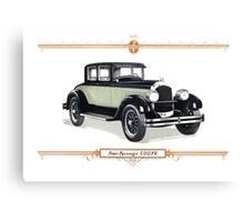 1926 Chrysler Coupe Canvas Print