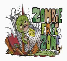 Zombie Free Zone by Skree