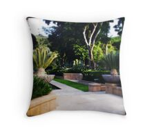 Even More Formal Gardens Throw Pillow