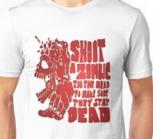 Shoot in the head Unisex T-Shirt