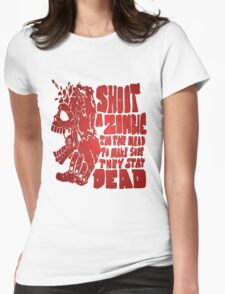 Shoot in the head Womens Fitted T-Shirt