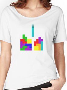 Tetris + LEGO = ??? Women's Relaxed Fit T-Shirt
