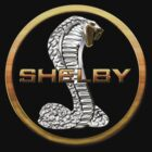 Shelby Corba Car Emblem T-Shirt by Walter Colvin