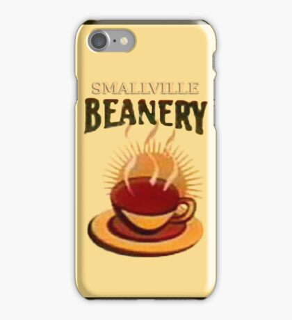 Smallville Beanery iPhone Case/Skin