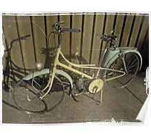 1950'S MOPED BICYCLE/PARIS Poster