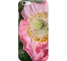 Crumpled poppy iPhone Case/Skin