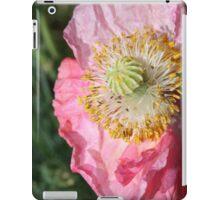 Crumpled poppy iPad Case/Skin