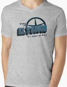 Greetings From Elysium Mens V-Neck T-Shirt