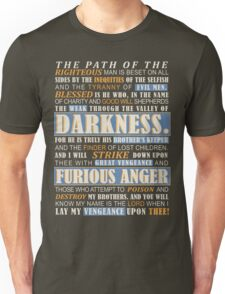 Pulp Fiction: Ezekiel 25:17 Unisex T-Shirt