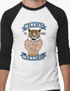 Tiger Man Always Winning Men's Baseball ¾ T-Shirt