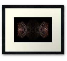 T-Rex Abstracted Framed Print