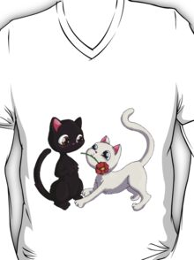 Kitty Flower T-Shirt