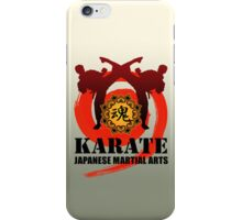 karate5 iPhone Case/Skin