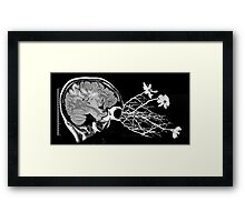 what's in the mind doesn't always stay there... Framed Print