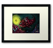 i want be your friend. Framed Print
