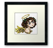 Holly Angel Framed Print