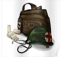 Army Medic Poster