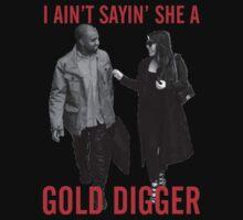 Kimye Gold Digger Kids Clothes
