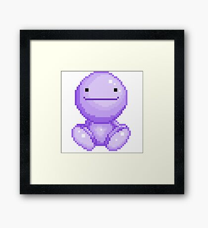 Nohohon by Shou' (Pixel Art) Framed Print