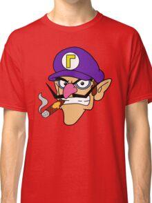 Waluigi Smoking a Cigar Classic T-Shirt