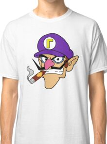 Waluigi Smoking a Cigar Classic T-Shirt