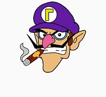 Waluigi Smoking a Cigar T-Shirt