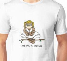 Mar-owl-yn Monroe Unisex T-Shirt