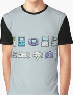 Nintendo consoles Graphic T-Shirt