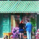 New York - Antique Shop Canandaigua NY by Susan Savad