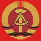 German Democratic Republic Emblem by charlieshim