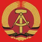 German Democratic Republic Emblem by charlieshim