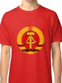 German Democratic Republic Emblem Classic T-Shirt