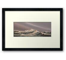 sea-30- Framed Print