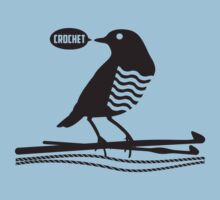 Talking bird crochet hooks yarn by BigMRanch