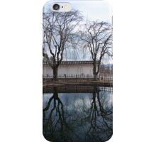 Himeji Castle pond iPhone Case/Skin