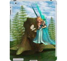 Fairy and Butterfly iPad Case/Skin