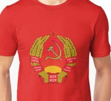 Socialist Kazakhstan Emblem Unisex T-Shirt
