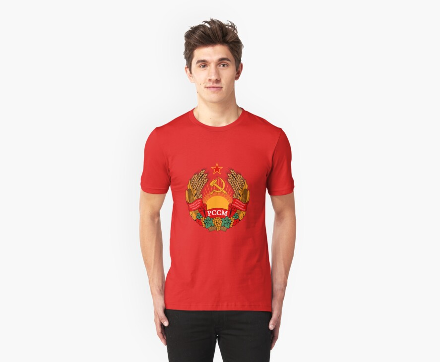 Socialist Moldova Emblem by charlieshim