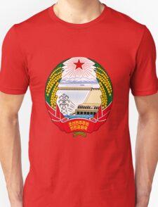 North Korea Emblem Unisex T-Shirt
