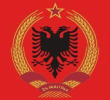Socialist Albania Emblem One Piece - Short Sleeve